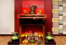 Những mẫu bàn thờ đẹp dành cho những người thích sự độc đáo